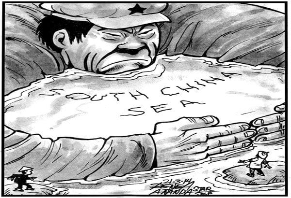 "China's ""Territorial Greed"" (Philippine Star)"