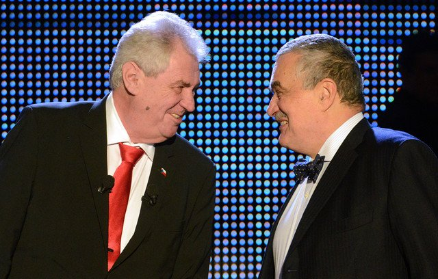 On Sat. Jan. 26, 2013 the people of the Czech Republic voted to directly elect their president for the first time. Former prime minister Milos Zeman (left) defeated the current government's foreign minister Karel Schwarzenberg (right). Zeman's term begins in March. Photo credit: Michal Cizek/AFP/Getty Images