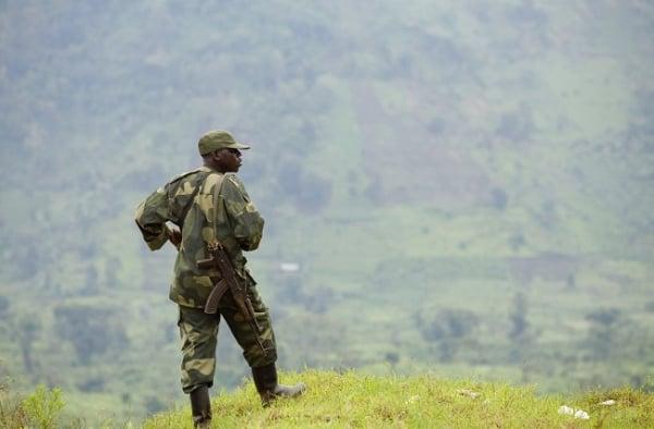DRC solider