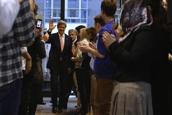 Secretary Kerry in Berlin. Source: AP/Boston Globe
