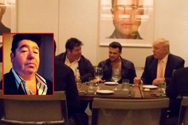 Rob Goldstone, left, with Emin Agalarov and Donald Trump, 2013 (Facebook via The Stern Facts)
