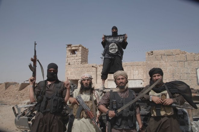 ISIS fighters, courtesy of VICE News