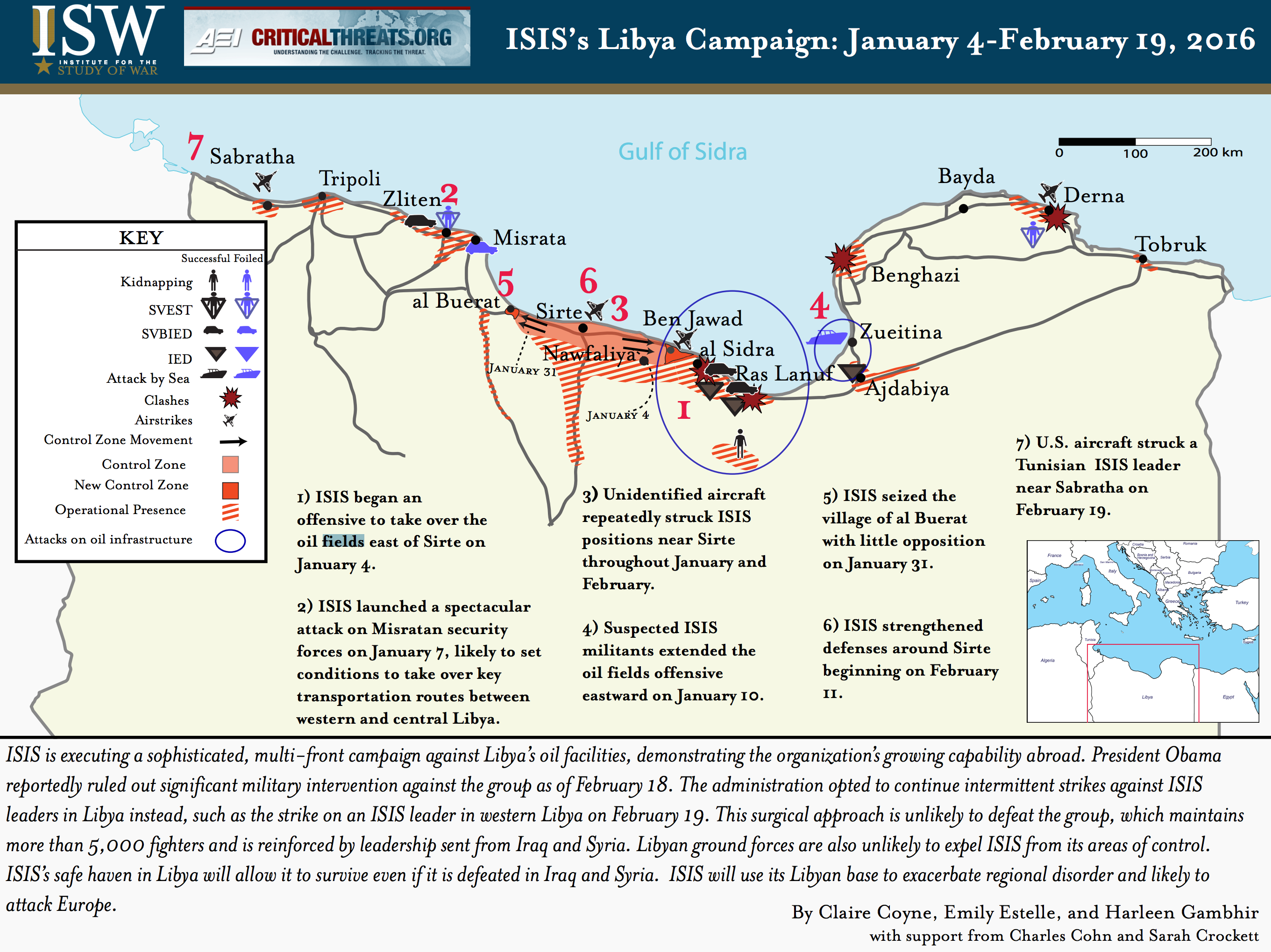 The Islamic State In Libya Foreign Policy Blogs