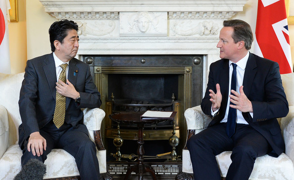 Japanese+Prime+Minister+Shinzo+Abe+Visits+cP8dW44ADVSl
