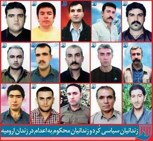 Kurdish political prisoners on hunger strike in Iran (Photo Credit: Salah Bayaziddi)