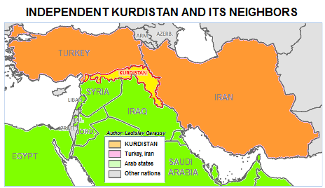 Independent Kurdistan as a buffer state.
