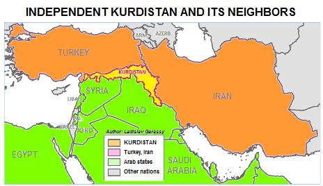 Independent Kurdistan as a buffer state.