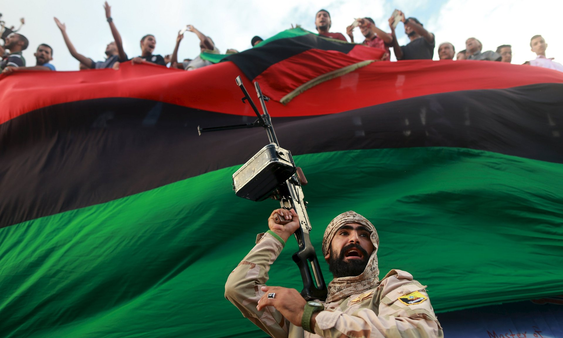 Photograph: Esam Omran Al-Fetori/Reuters