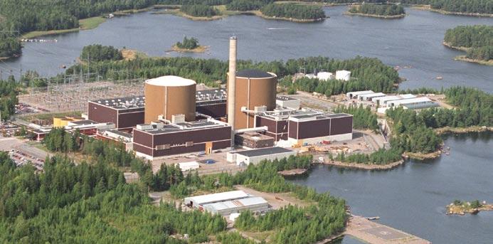 Loviisa Nuclear Power Plant (Finland) Credit: Wikimedia