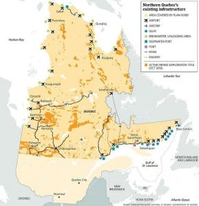 Quebec's Plan Nord officially unveiled