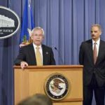 ATF Director Kenneth Melson and Attorney General Eric Holder