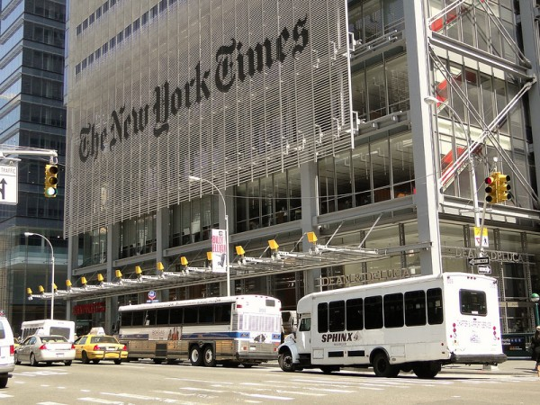 Several New York Times Foreign Correspondents have yet to receive their press card in order to apply for resident journalist visa before the end of the year.