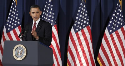 Obama to Partners: Share the Burden