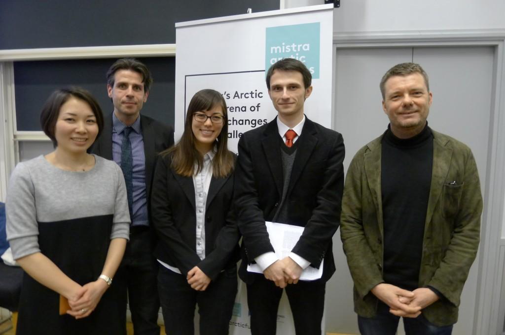 Panelists at the Asian-Arctic Seminar at KTH.