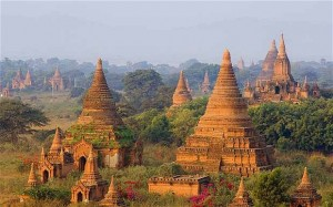 "Ancient city of Bagan. Burma. The nation is currently undergoing a gradual political opening, with hopes of economic investment (including tourism) following. The ""Great Decisions"" series focuses on the long-isolated nation in ""The Generals and the Democrat: Burma in Transition."" Photo: photolibrary.com via telegraph.co.uk"