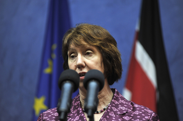 EU High Representative Catherine Ashton speaks during her visit to Kenya © European External Action Service (EEAS)
