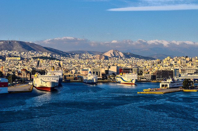 Piraeus Port, Greece. By Jeffrey @flickr