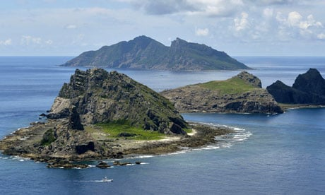 Diaoyu, or Senkaku? (Photo: theguardian.com)