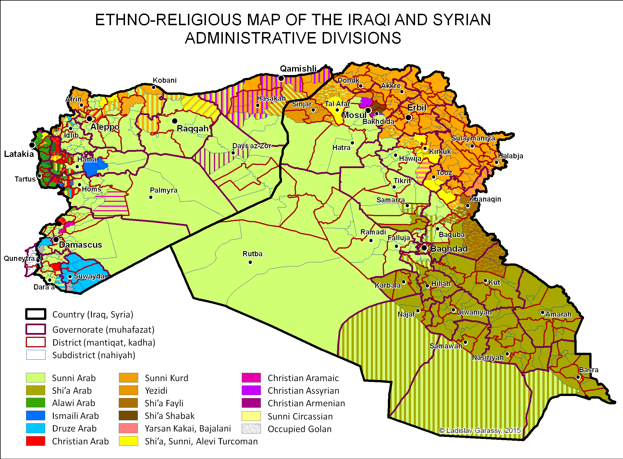 Sunni areas post isis occupation by sunni powers foreign policy click to enlarge gumiabroncs Choice Image