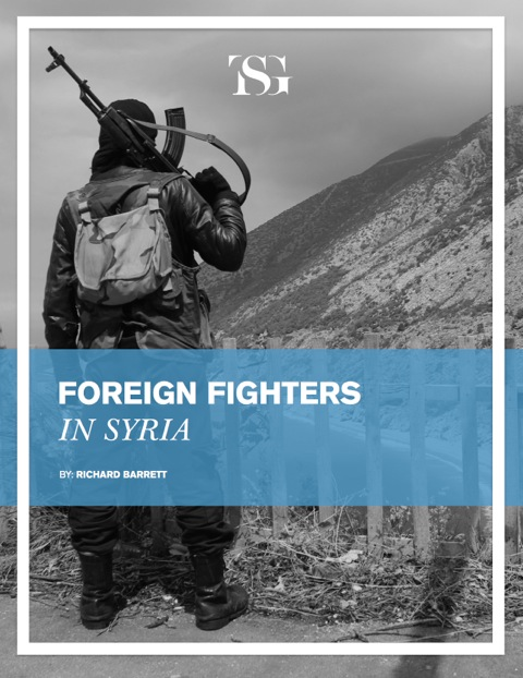 TSG Foreign Fighters in Syria - FINAL cover
