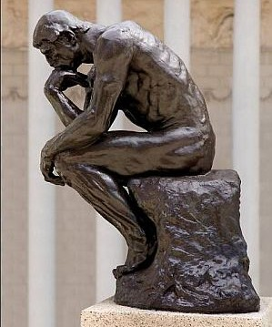 The Thinker by August Rodin (1840–1917) Image: Legion of Honor Museum, San Francisco
