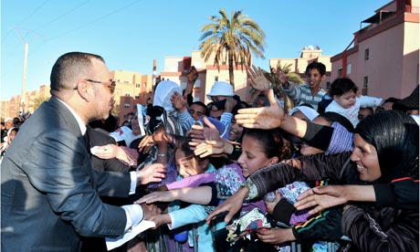 The-king-of-Morocco-Moham-007