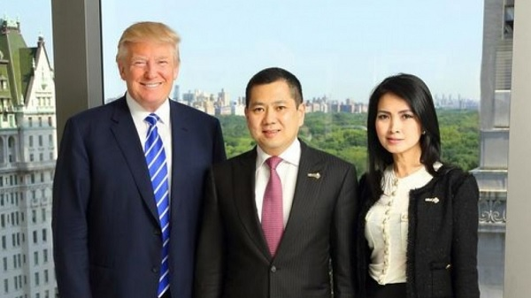 Donald Trump meets with Indonesian partners, 2015 (South China Morning Post).