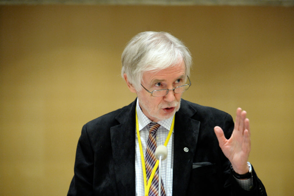Finnish FM Erkki Tuomioja. Photo: Wikimedia Commons.