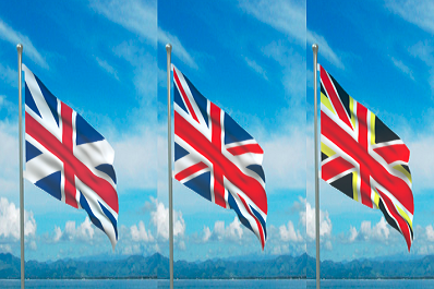Possible transformation of the Union Jack