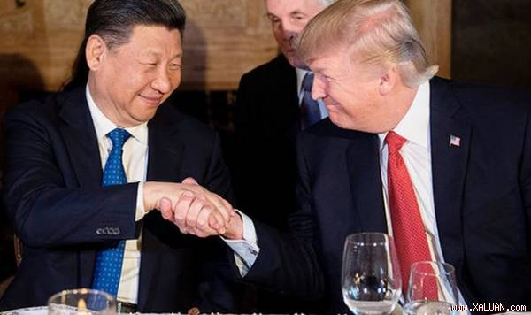 The Art of the Deal: Chinese president Xi Jinping and U.S. president Donald Trump.
