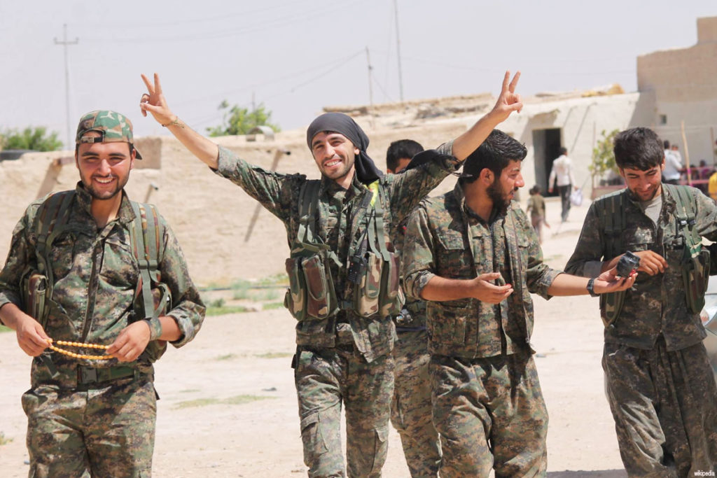 YPG-fighters