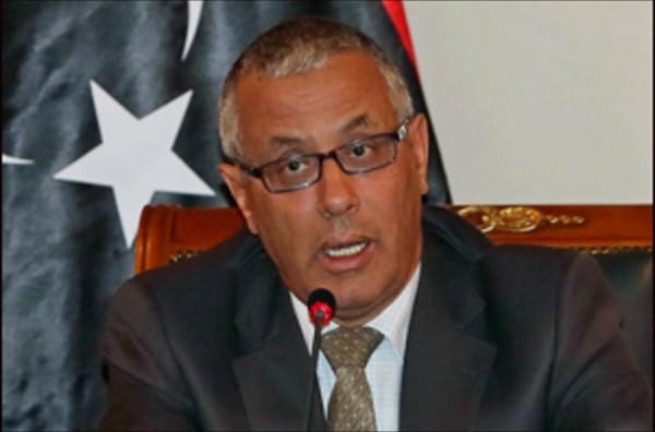 (AFP) Former Libyan Prime Minister Ali Zidan