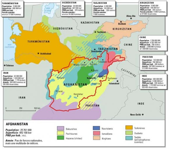 Weekly Map: Central Asian Ethnicities - Foreign Policy Blogs