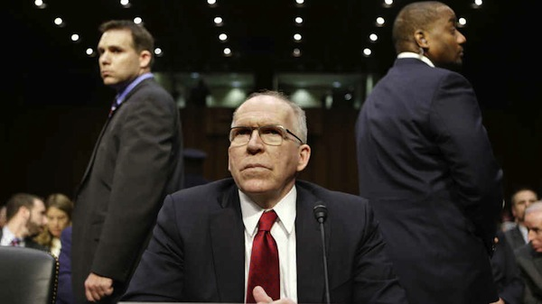 John Brennan, President Obama's nominee to head the CIA, prepares to testify at his confirmation hearing before the Senate Intelligence Committee on Thursday. [J. Scott Applewhite/AP]