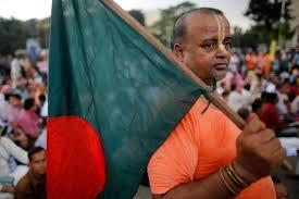 Bangladeshi Hindu activist calls upon India to stop supporting his