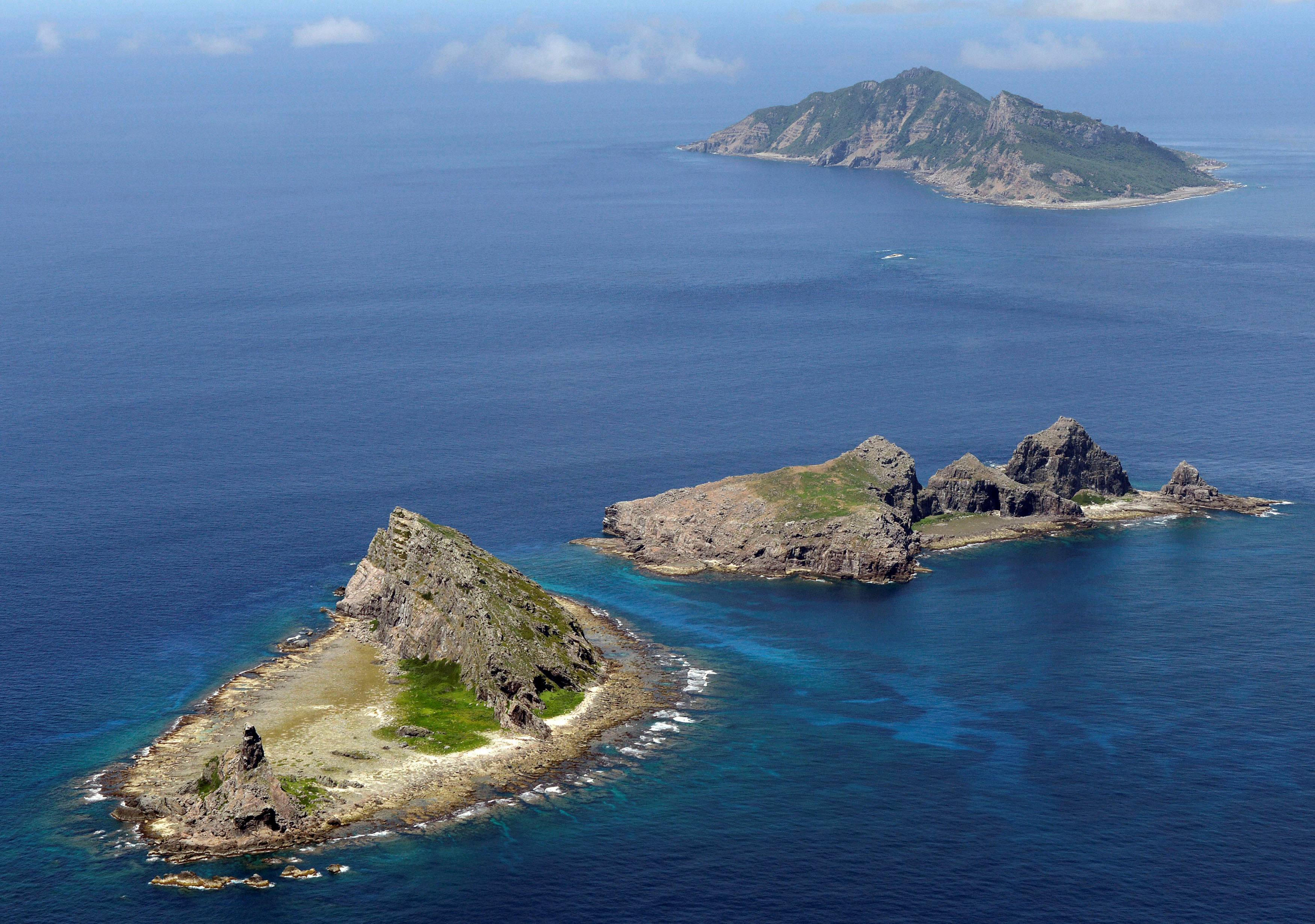 18 most contested islands
