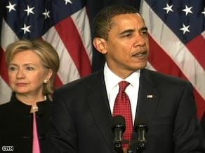 President Obama announces his Af-Pak Initiative.  Source: CNN