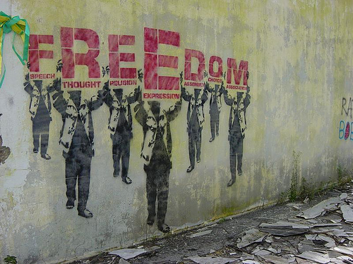 freedom-grafitti
