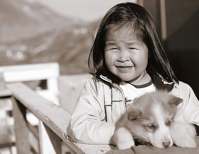What will Greenland's decision mean for future generations? Photo: Nick Russill/Flickr.