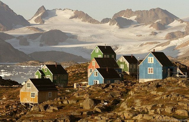Kulusuk, Greenland. Photo: Nick Russill/Flickr.