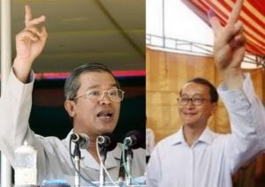 hun-sen-sam-rainsy-wear-glass