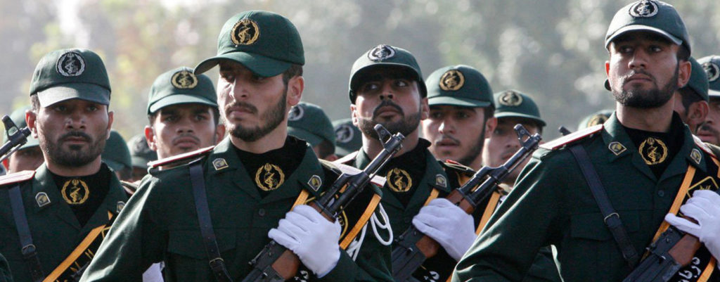 The Islamic Revolutionary Guard Corps (IRGC). (Counter Extremism Project)