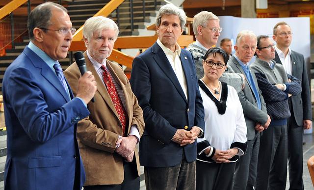 Closing the meeting in Kiruna. Photo: U.S. Government Work.