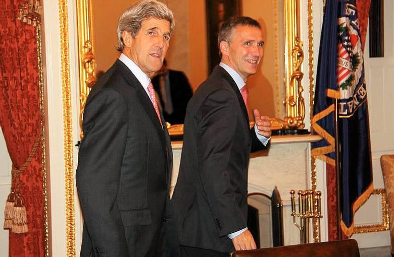 President Obama and Norwegian Prime Minister Stoltenberg meet in DC