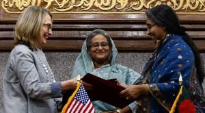 On Secretary Clinton's Visit Through Asia