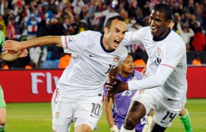 Landon Donovan of the U.S. Men's National Team: Image Credit - Kevork Djansezian/Getty Images