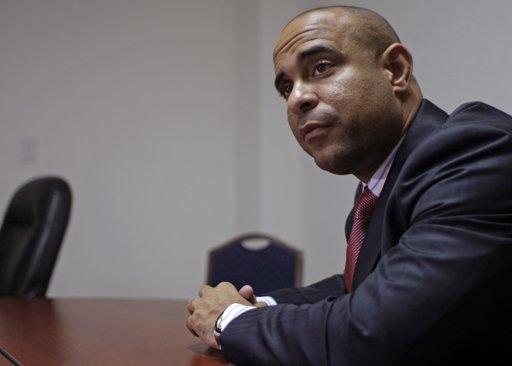 Haiti's Prime Minister Laurent Lamothe