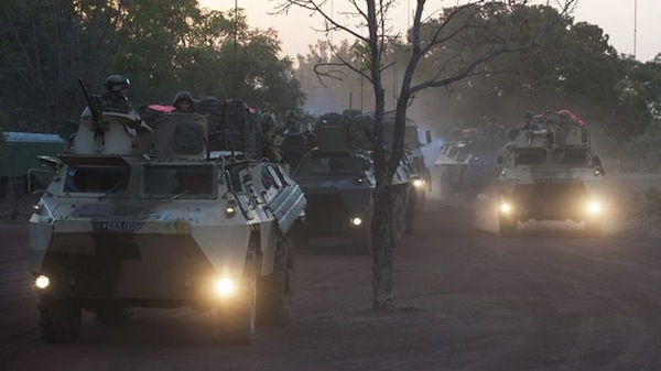 French troops in Mali on January 16, 2013. Source: AP, ECPAD