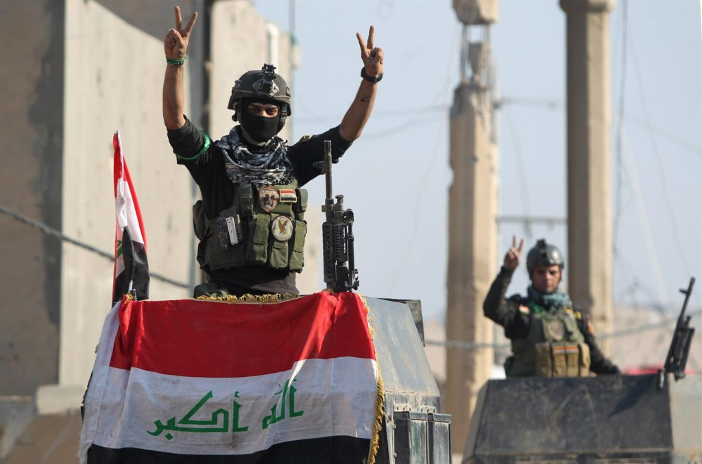 Iraqi Army captures Mahana village just 60 kilometers from ISIS-held Mosul.