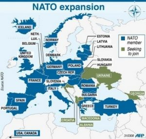 NATO expansion continues to scare Russians